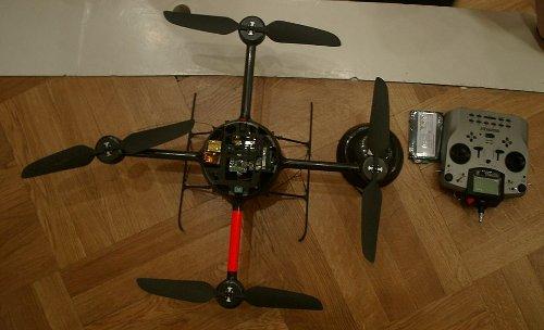 robot volant Quadrotor