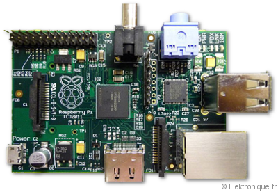 Carte du Raspberry Pi